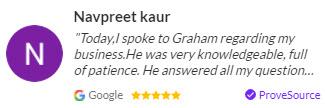 [today i spoke to graham...]